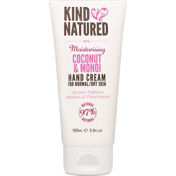 Kind Natured Moisturizing Hand Creme Coconut & Monoi 100ml