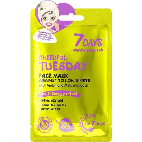 FACE MASK CHEERFUL TUESDAY